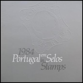 Portugal em Selos 1984 (sem selos) / 1984 Year book (no stamps)