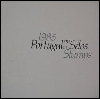 Portugal em Selos 1985 (sem selos) / 1985 Year book (no stamps)