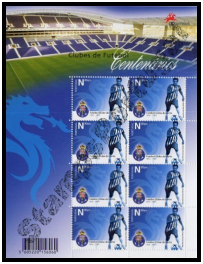 Mini Folha nº 26 2005 FC Porto - Mini Sheet 2005