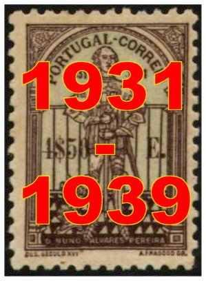 Anos 1931/1939 - Years 1931/1939