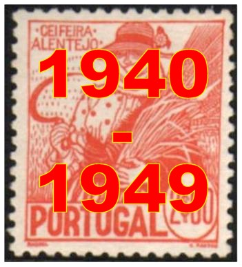 Anos 1940/1949 - Years 1940/1949