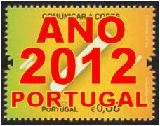 Ano 2012 Portugal (sem blocos) - Year 2012 Portugal (no blocks)